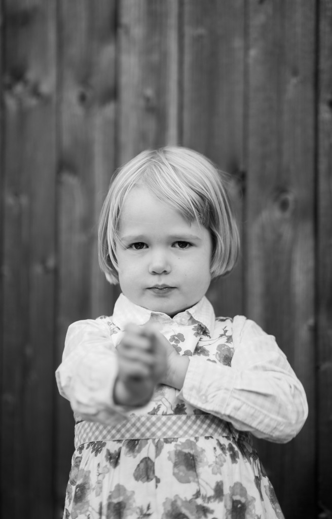 Nicht lächeln bringt manchmal wunderschöne Seiten des Kindes hervor....