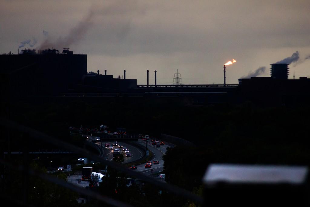 Ausblick auf echtes Ruhrpottambiente...