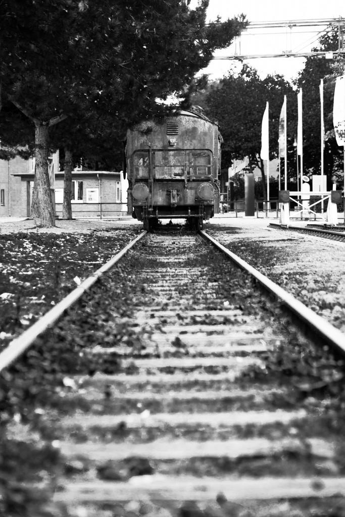 Niemals auf befahrenen Gleisen fotografieren!!!!!